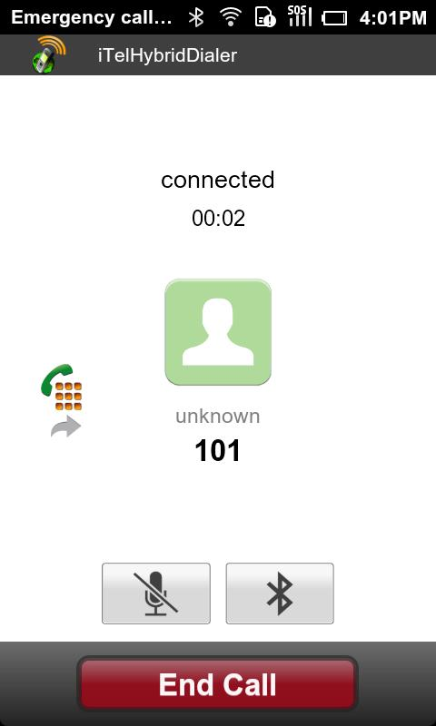 iTelHybridDialer - screenshot