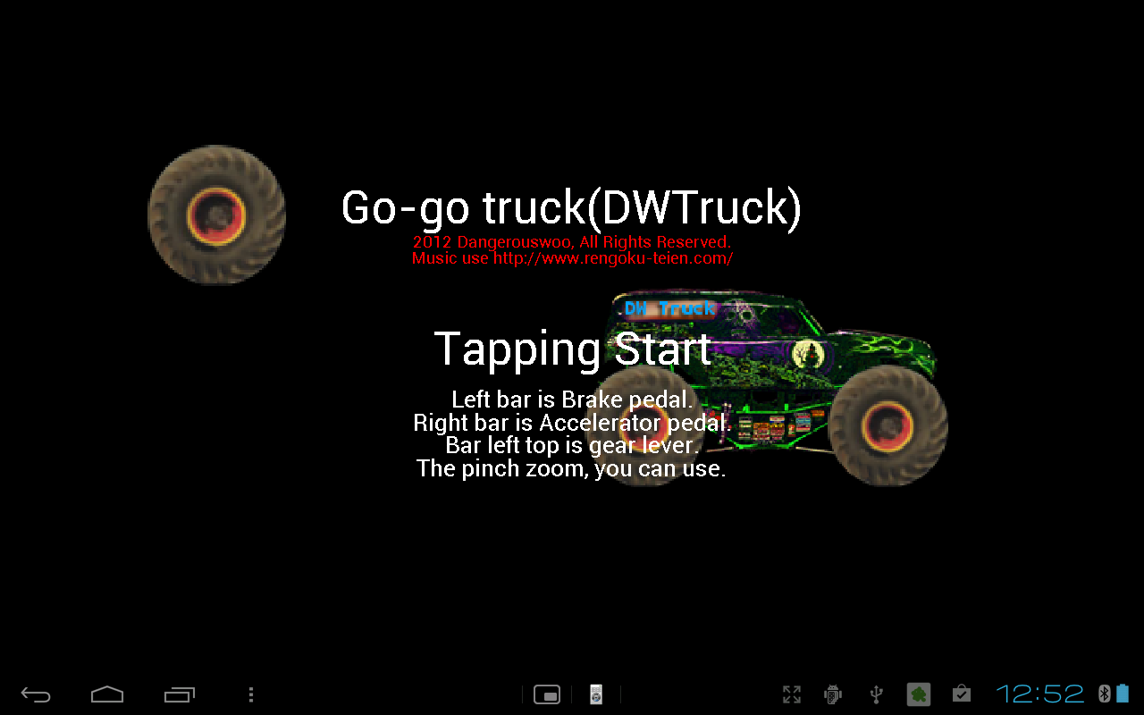 Go-go truck - screenshot