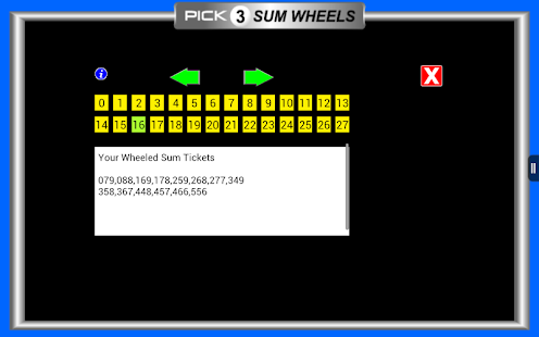 Pick 3 Lottery Tracking Pro- screenshot thumbnail