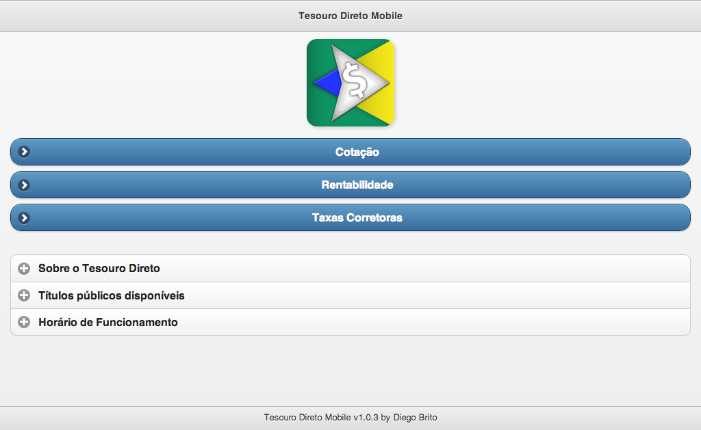 Tesouro Direto Mobile - screenshot