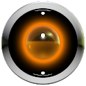 poweramp skin orange 3d icon