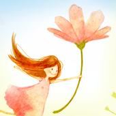 Flower fairy Atom Theme