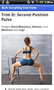 Butt Sculpting Exercises - screenshot thumbnail