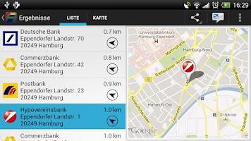 Screenshot of Cash Group Geldautomaten Pro