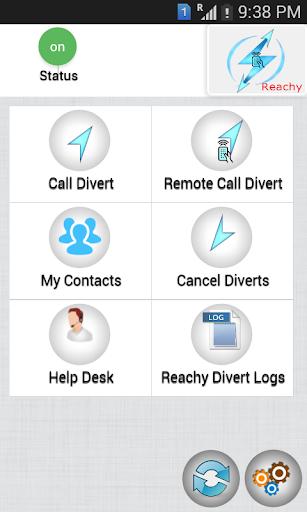 Reachy - [Call Divert Forward]