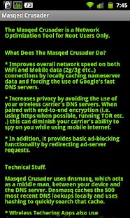 Masqed Crusader-Browse Faster - screenshot thumbnail