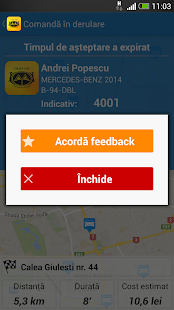Cris Taxi Bucuresti- screenshot thumbnail