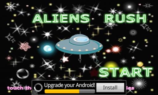 【免費冒險App】Aliens Rush-APP點子