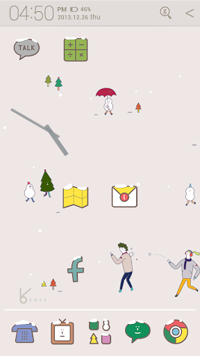 winter story_ATOM theme