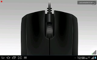 Screenshot of Accelerometer Mouse