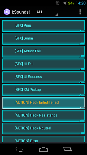 Ingress: Sounds