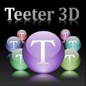 Teeter 3D logo