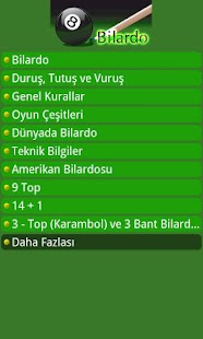 Bilardo - screenshot thumbnail