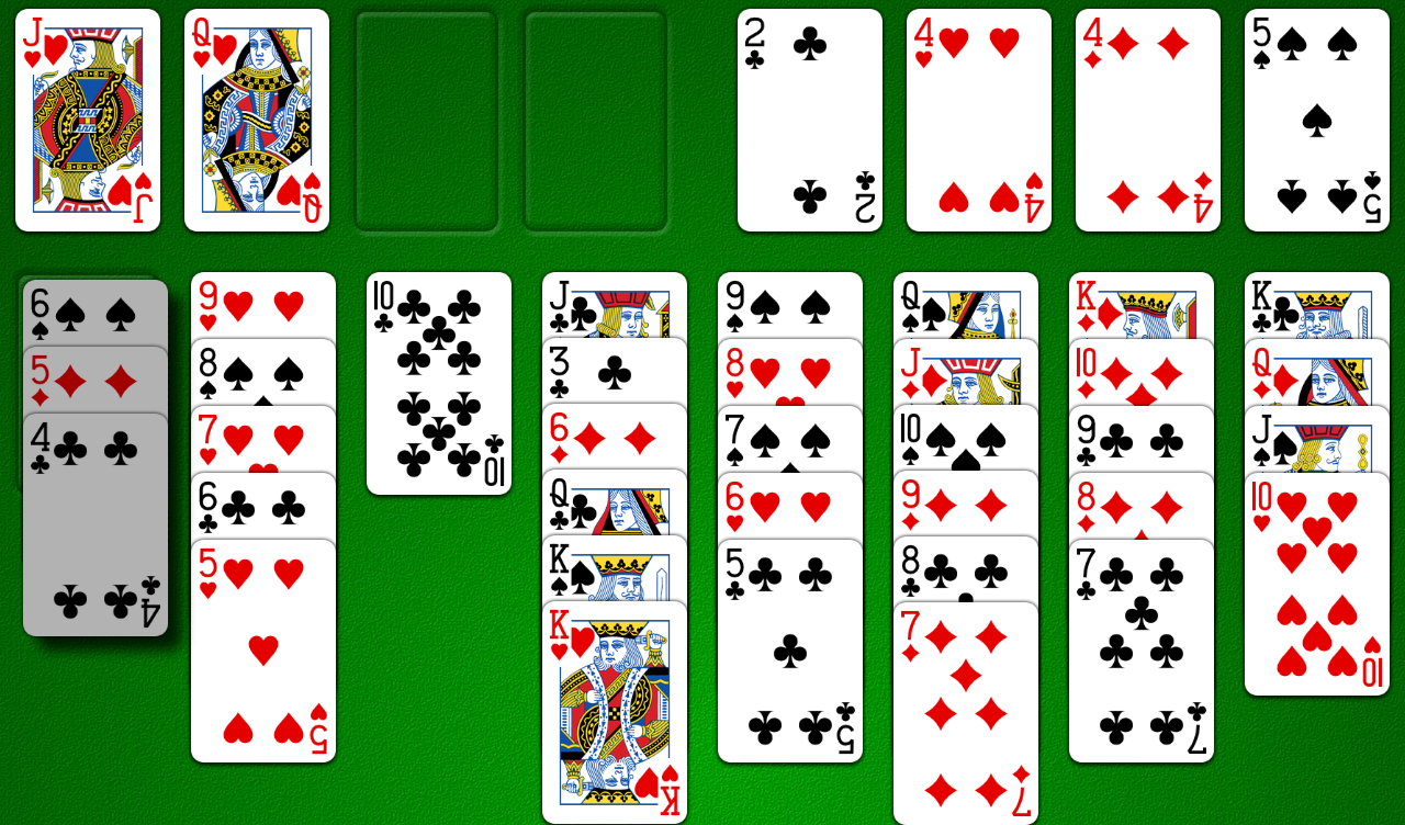 Odesys FreeCell- screenshot
