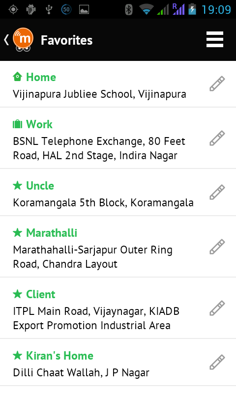 mGaadi - Book Auto Rickshaws - screenshot