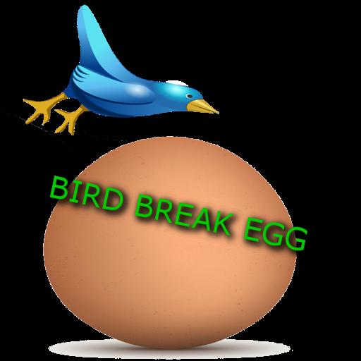 Breaking Bird egg