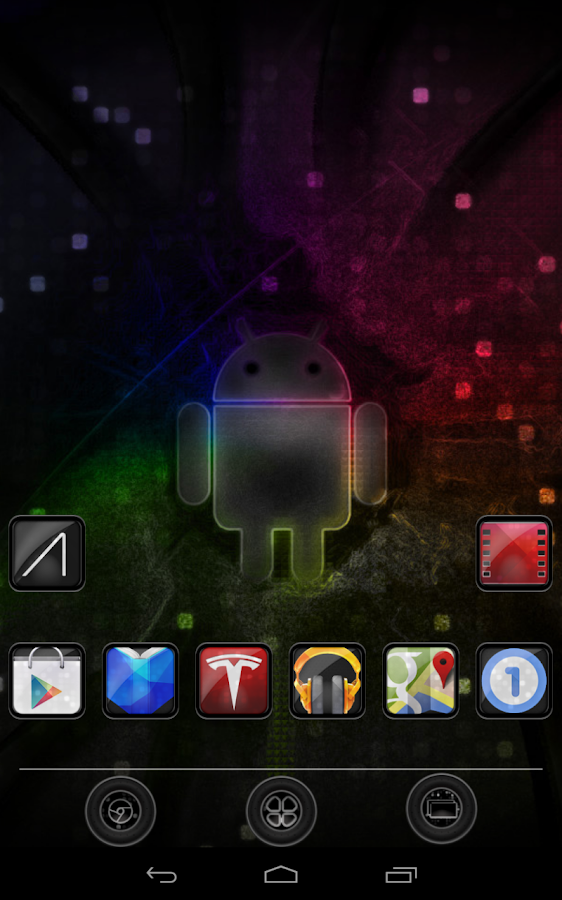 Nexus 7 Nova SF Theme - screenshot
