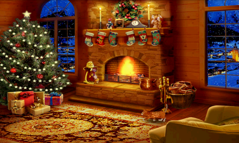 Christmas eve relax android apps on google play for Screensaver natale 3d