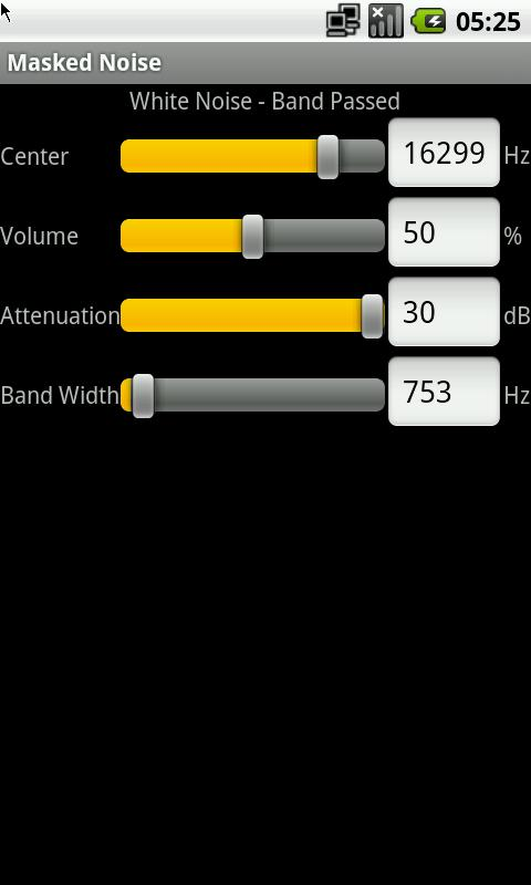 White Noise Generator- screenshot