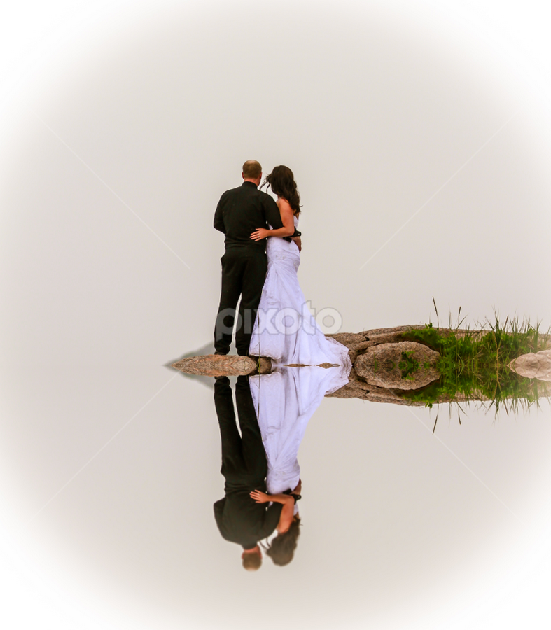 Tranquility by Eugene Ball - Wedding Bride & Groom ( tranquil, wedding, poses, bride, groom )