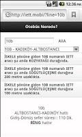 Screenshot of Mobil Website