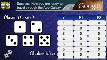 Screenshot of Generala Free