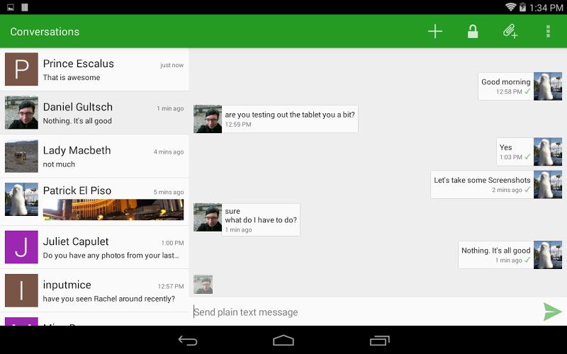 Conversations (Jabber / XMPP) Screenshot 7