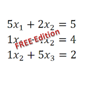 Equation with vars solver FREE