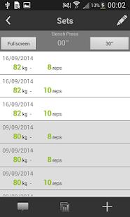 My Workout Diary - screenshot thumbnail