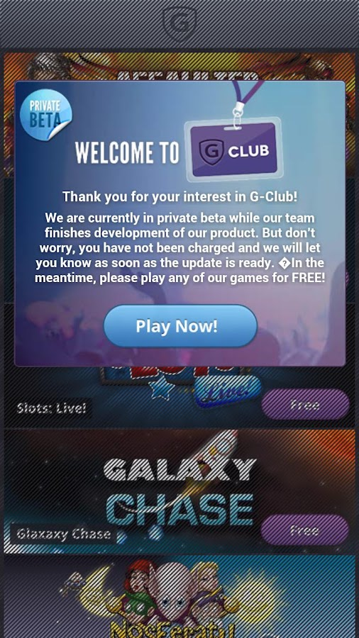 G-Club - screenshot