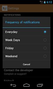 Friday? - screenshot thumbnail