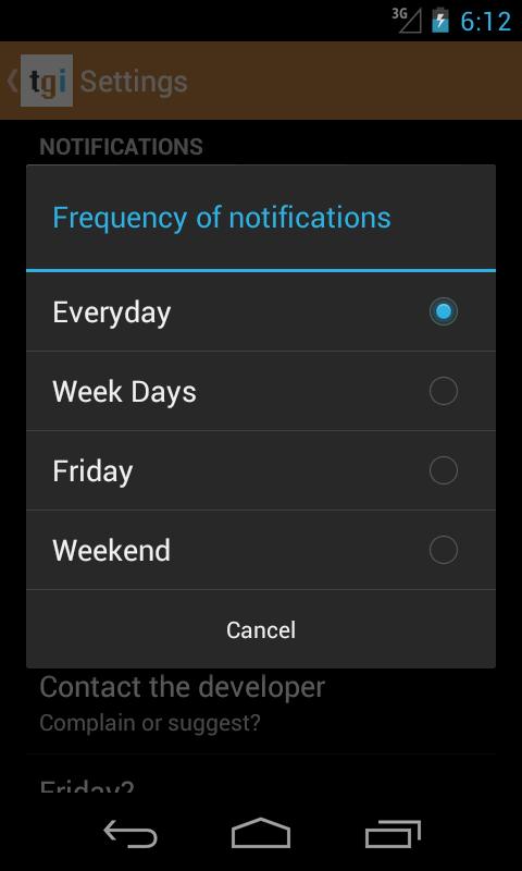 Friday? - screenshot
