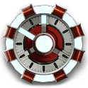 Arc Reactor Clock Widget icon