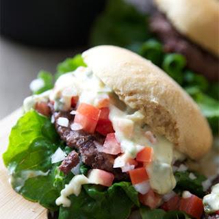 Queso Blanco Cinco De Mayo Burger
