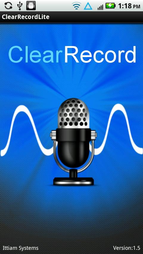 ClearRecordLite - screenshot