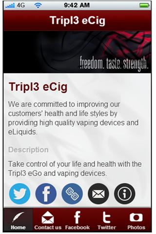 Tripl3 eCig Mobile