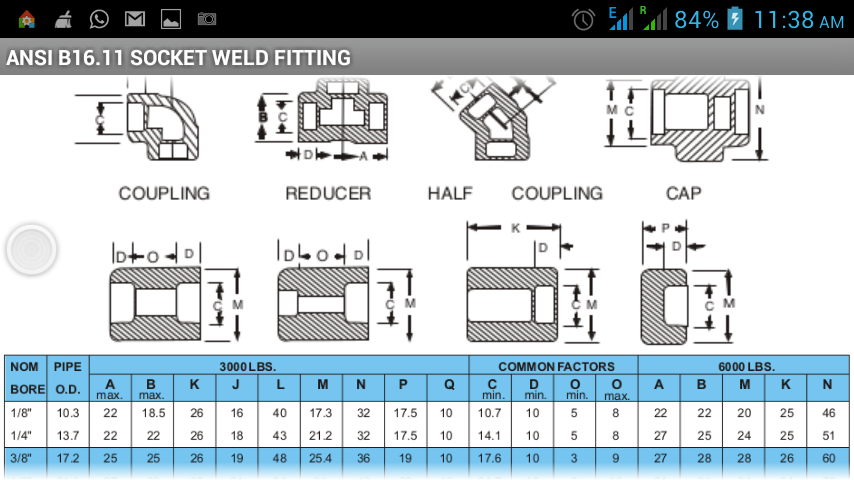 Flange pipe fittings pro android apps on google play