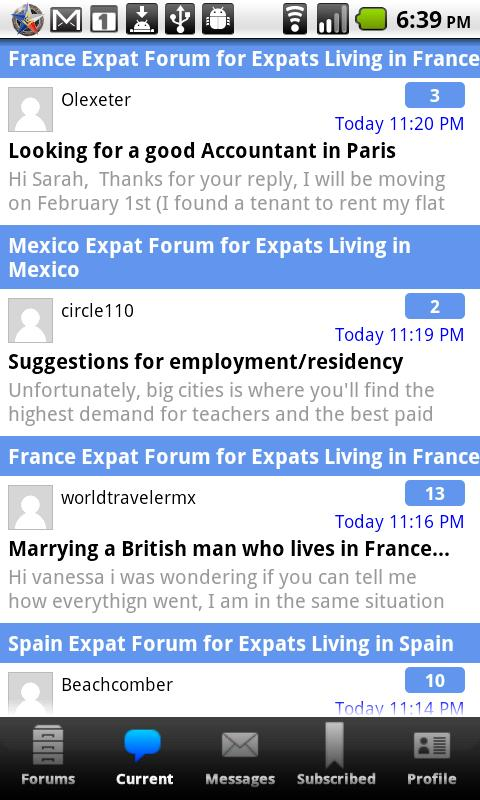 Expat Forum Community For Expa - screenshot
