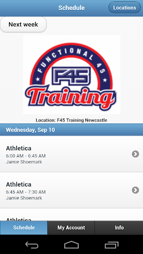 F45 Training Newcastle