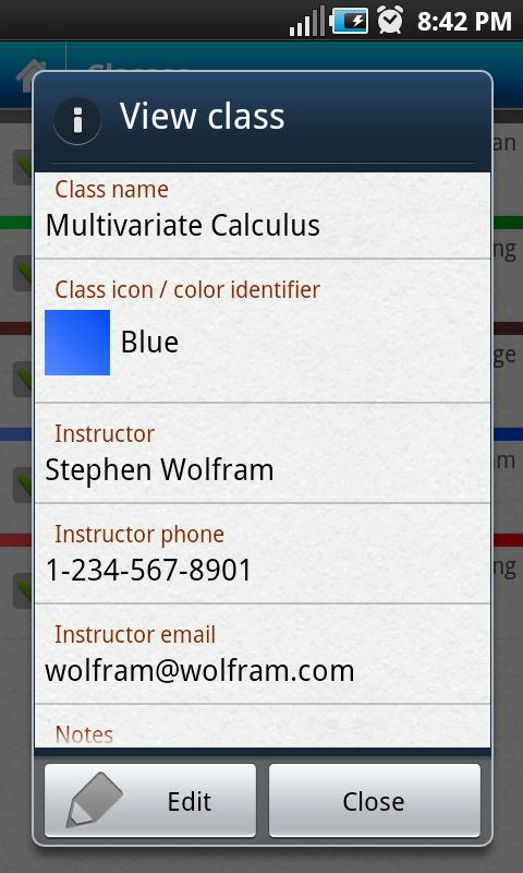 Everstudent Student Planner - screenshot