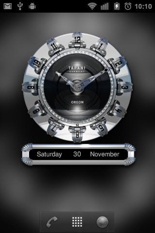【免費個人化App】OREON Designer Clock Widget-APP點子