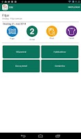 Screenshot of SIM Tømmekalender
