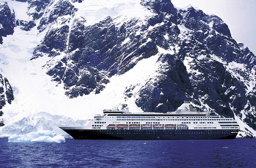 Holland-America-Ryndam - Holland America's Ryndam cruises to the Mediterranean, Aegean, Norwegian fjords, Caribbean, among other destinations.