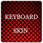 Red Carbon Keyboard Skin