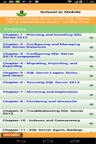 SQL SERVER考試70-462免費