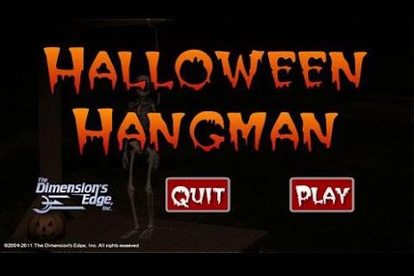 Halloween Hangman- screenshot thumbnail