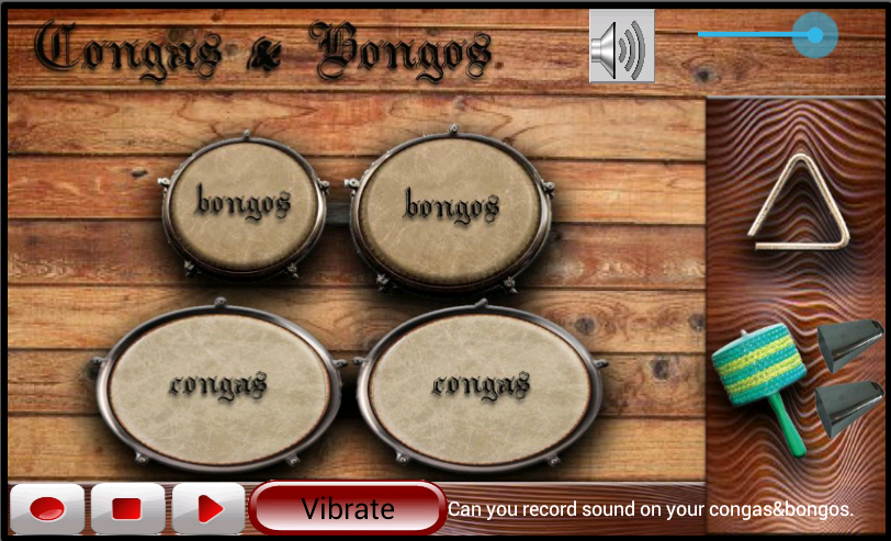 Congas & Bongos- screenshot