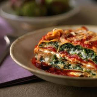 Ultimate Spinach and Turkey Lasagna.
