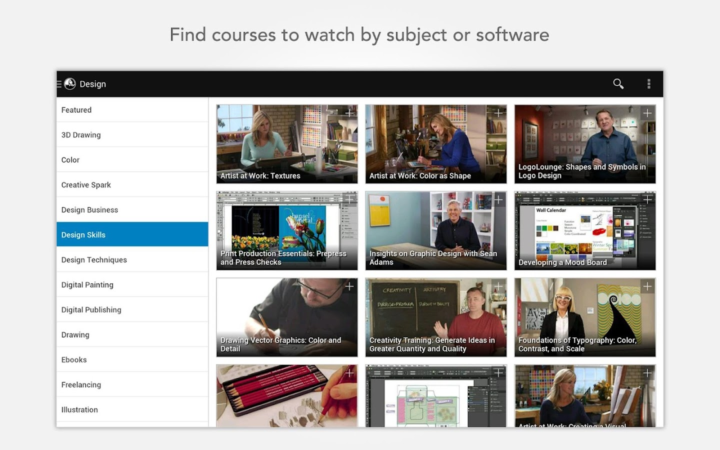 lynda.com - screenshot