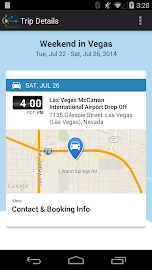 TripIt: Trip Planner Screenshot 5